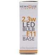 23w 20w equivalent e112320 led e11 bulb
