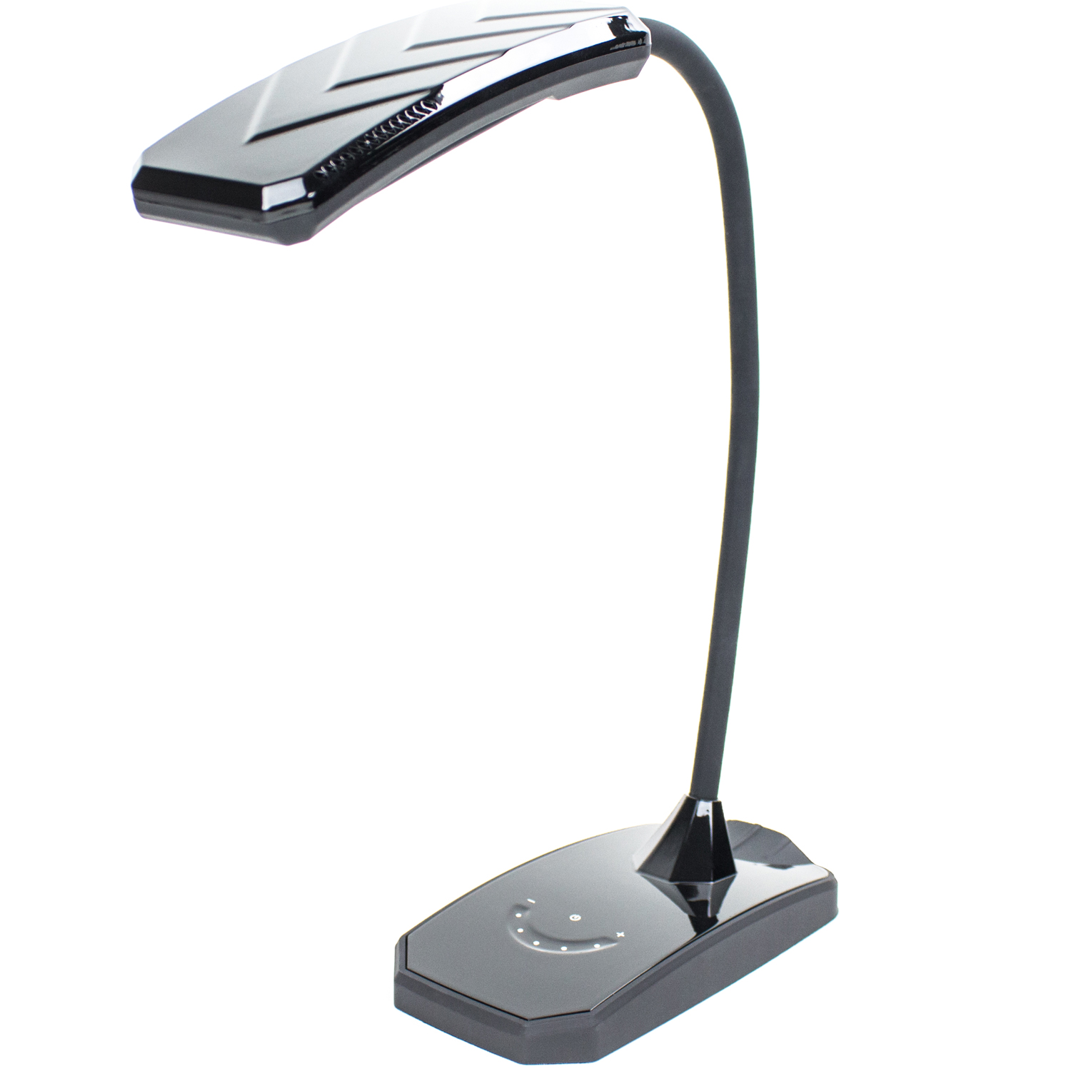 6W LED Desk Lamp w/ Dimmer and USB Charging Port Outlet - Newhouse Lighting