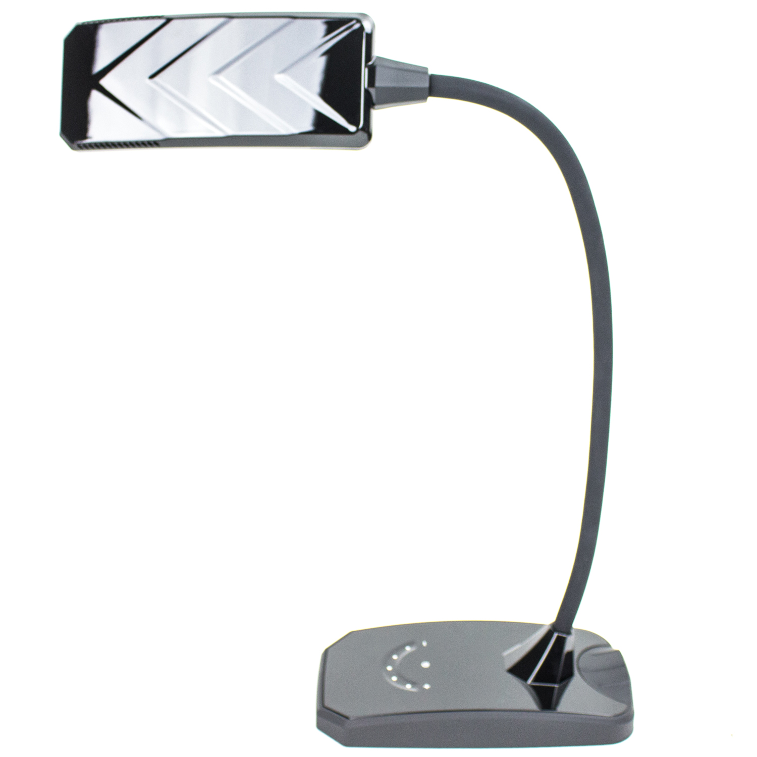 6w led desk lamp w dimmer and usb charging port outlet. Black Bedroom Furniture Sets. Home Design Ideas