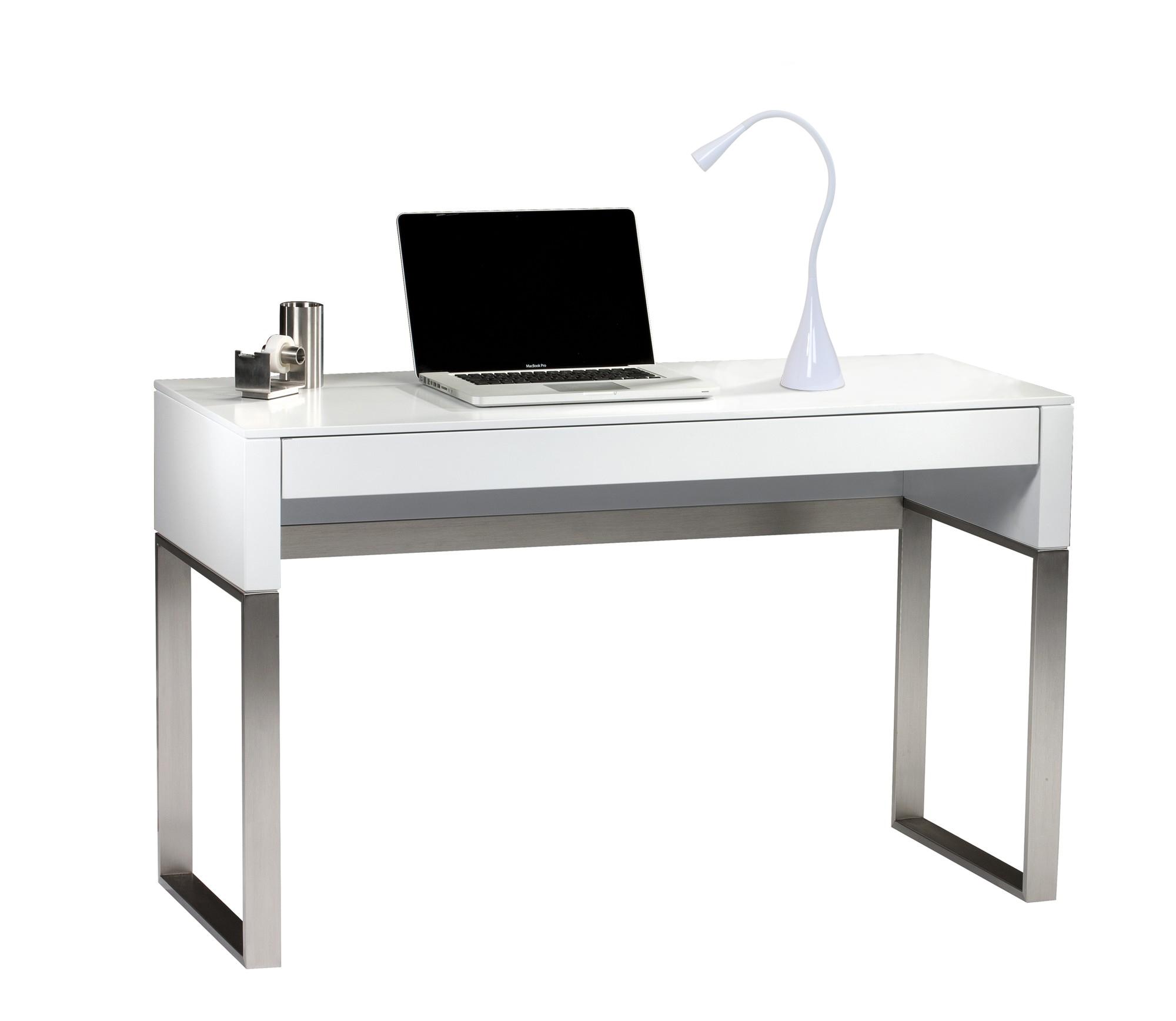 3W EnergyEfficient Touch Dimmable LED Gooseneck Lamp White – Non Halogen Desk Lamp
