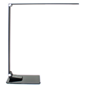 Newhouse Lighting NHSX-BB 9W LED Executive Desk Lamp w/ Touch Dimming Control & USB Charging Port