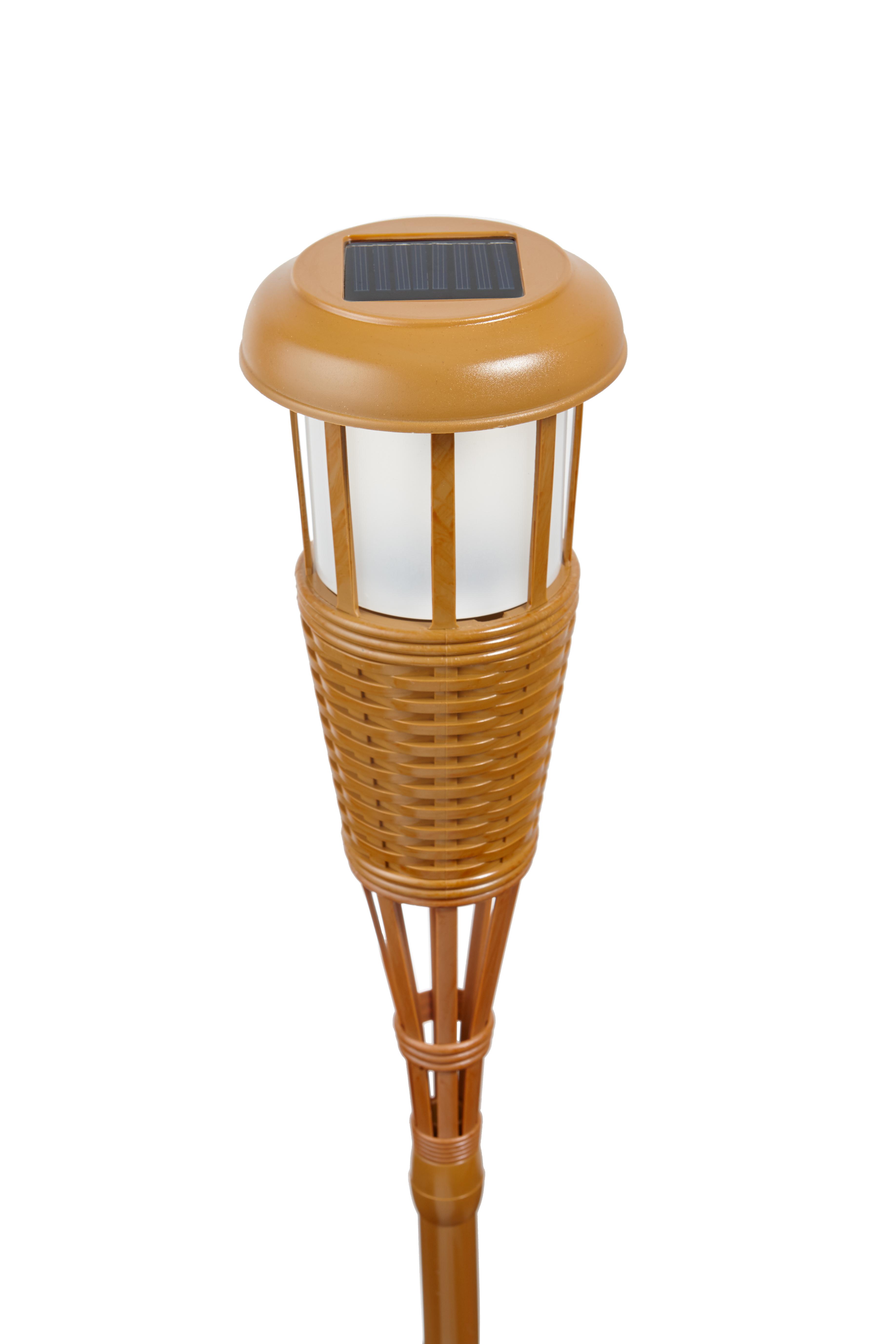 Solar Flickering LED Tiki Torch ...