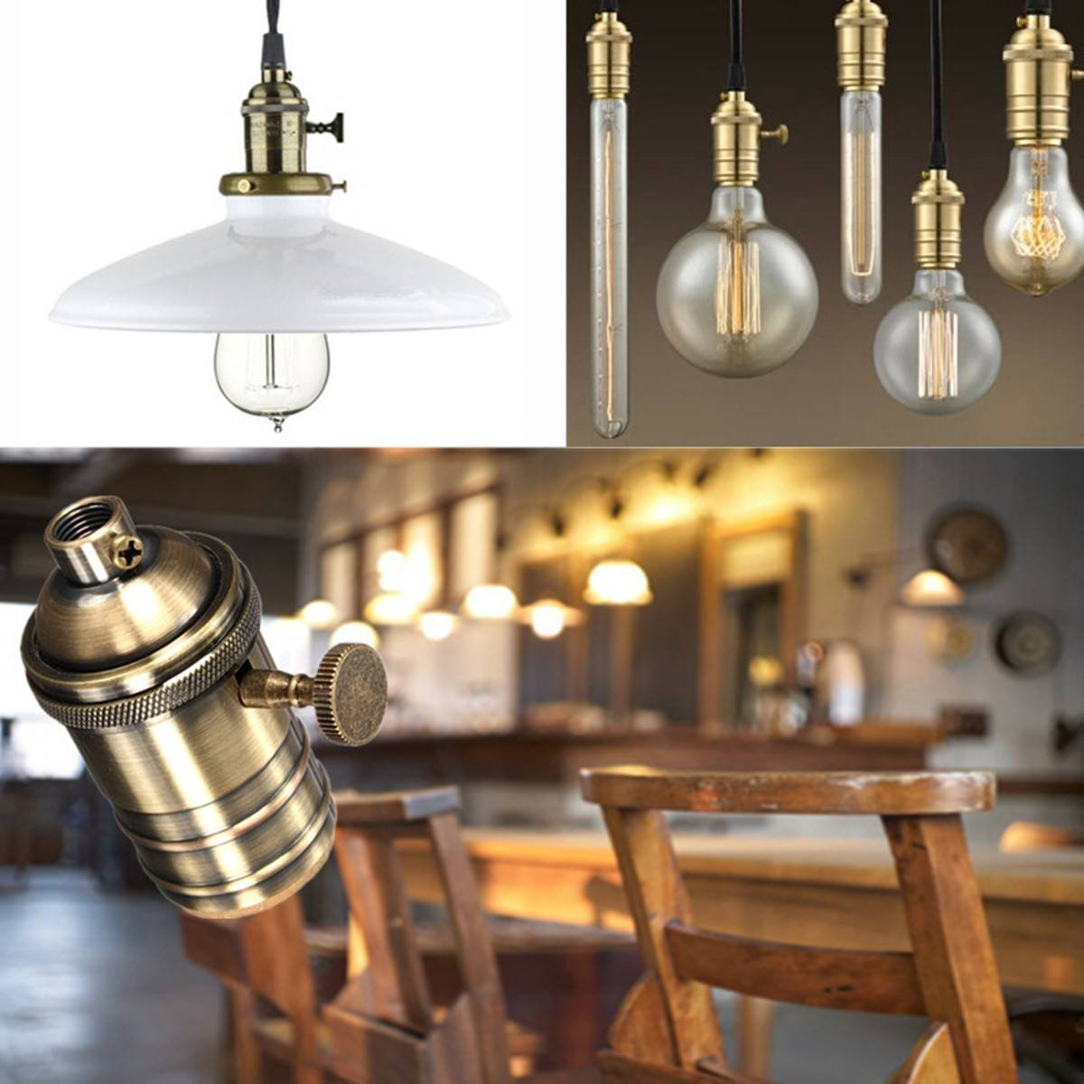 Newhouse lighting vintage pendant lamp holder brass light socket newhouse lighting aloadofball Choice Image