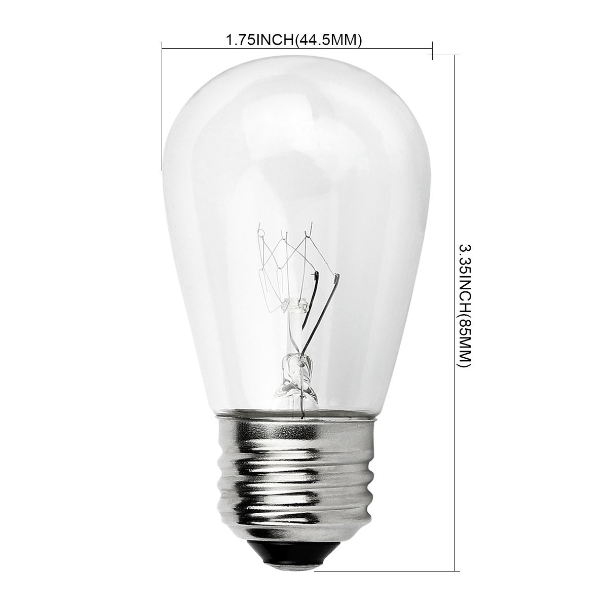 Newhouse Lighting Outdoor S14 Incandescent Replacement