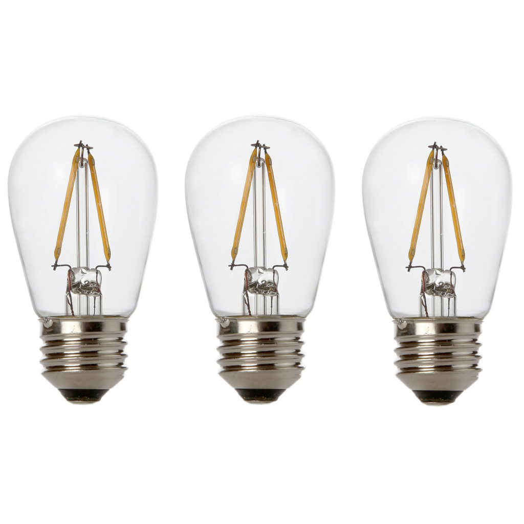 Lighting Basement Washroom Stairs: Newhouse Lighting 2W S14 LED Replacement String Light