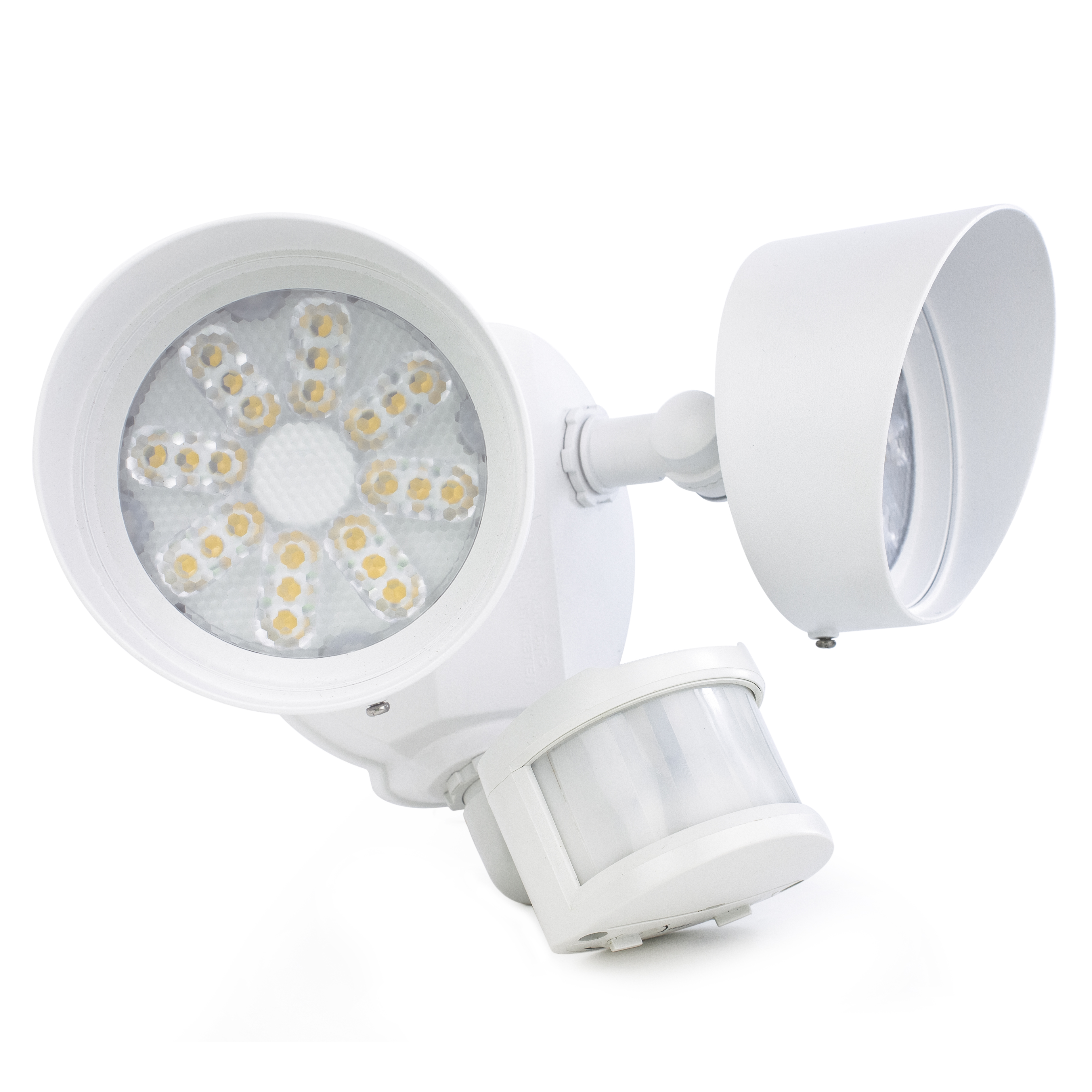 Security light led twin head 3000 lumens 4000k by newhouse lighting newhouse lighting security motion light fixtures use the latest led technology to bring you bright aloadofball Images